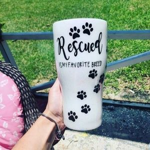 Rescued is my favorite breed, dog mom, fur mama